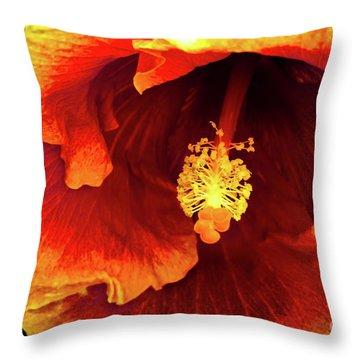 Hawaii Dreamin Throw Pillow