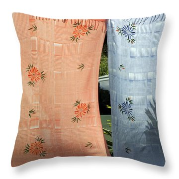 Hawaii Drying  Throw Pillow