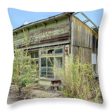 Hawaii Of Yesteryear Throw Pillow
