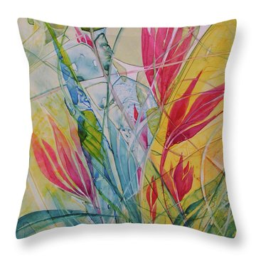 Hawaiian Dreams Throw Pillow