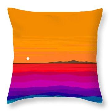 Hawaiian Sea  Throw Pillow