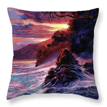 Hawaiian Sunset - Kauai Throw Pillow