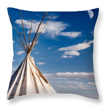 Hawi Tipi Throw Pillow