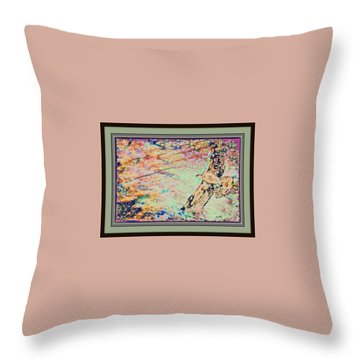 Hawk And Sky Throw Pillow by YoMamaBird Rhonda