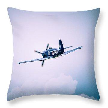 Hawker Sea Fury Fb11 Throw Pillow
