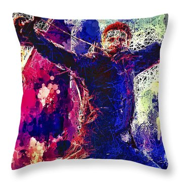 Hawkeye Throw Pillow