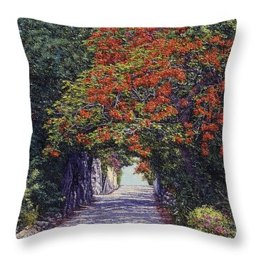 Hawkins Hill Throw Pillow