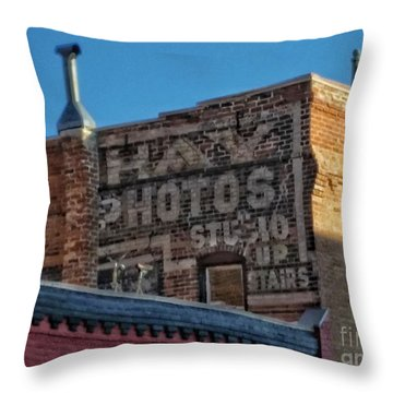 Hay Photo Studio Throw Pillow
