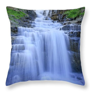 Haystack Creek Throw Pillow by Jack Bell