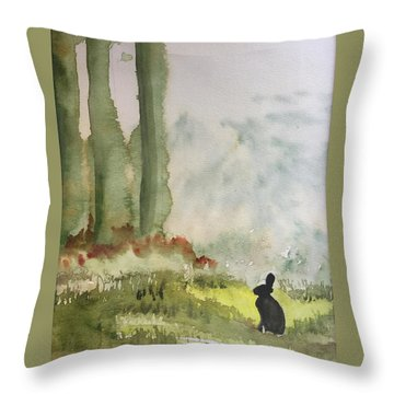Hazel-rah Throw Pillow
