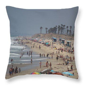 Hazy Lazy Days Of Summer Throw Pillow