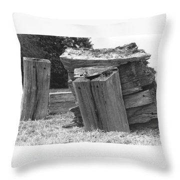 He Ain't Heavy, He's My Brother. Throw Pillow