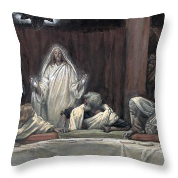 He Appeared To The Eleven Throw Pillow