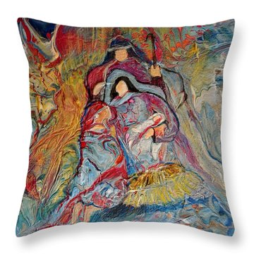 He Dwelt Among Us Throw Pillow