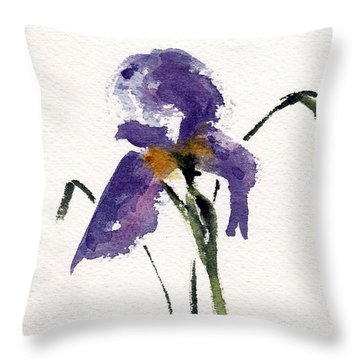 Throw Pillow featuring the painting He Is Risen by Anne Duke