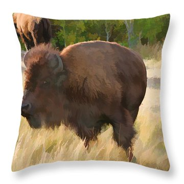 He Just About Got Me Throw Pillow