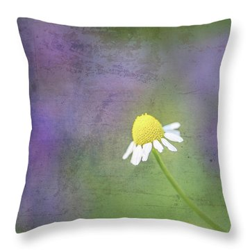 He Loves Me Throw Pillow