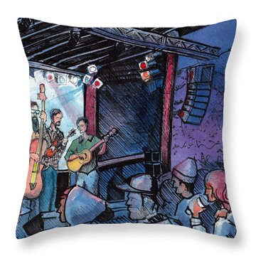 Head For The Hills At The Mish Throw Pillow