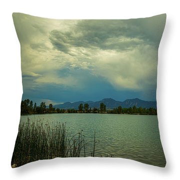Throw Pillow featuring the photograph Head In The Clouds by James BO Insogna