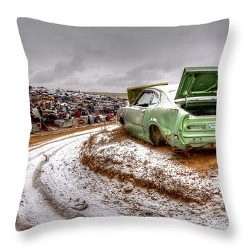 Head Of The Pack Throw Pillow