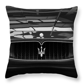 Head On Throw Pillow by Dennis Hedberg
