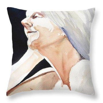 Head Study 2 Throw Pillow