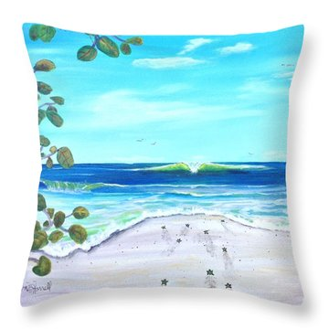 Headed Home Throw Pillow