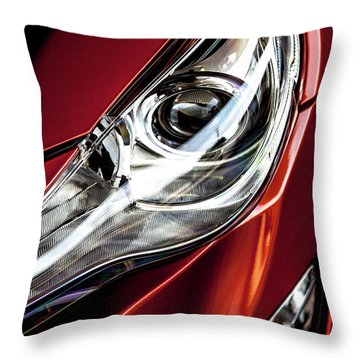 Throw Pillow featuring the photograph Headlight by Eric Christopher Jackson