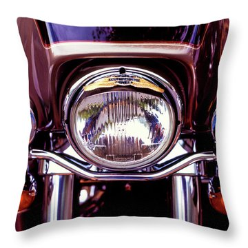 Throw Pillow featuring the photograph Headlights by Samuel M Purvis III