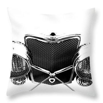 Throw Pillow featuring the photograph Headlights by Stephen Mitchell