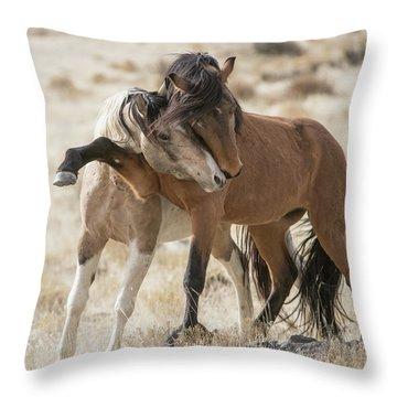 Headlock Throw Pillow