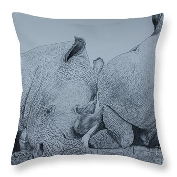 Heads Or Tails Throw Pillow by David Joyner