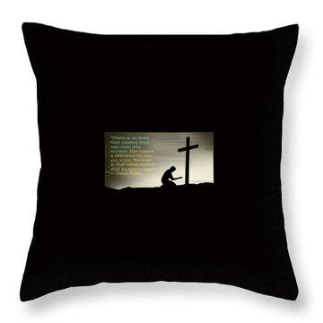 Healed Throw Pillow