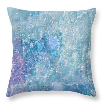 Healing Art By Sherri Of Palm Springs Throw Pillow by Sherri's Of Palm Springs