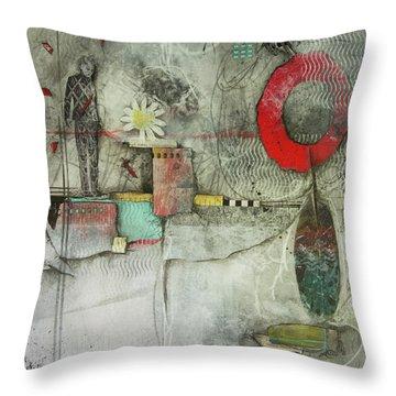 Healing Circle Of Spirit  Throw Pillow