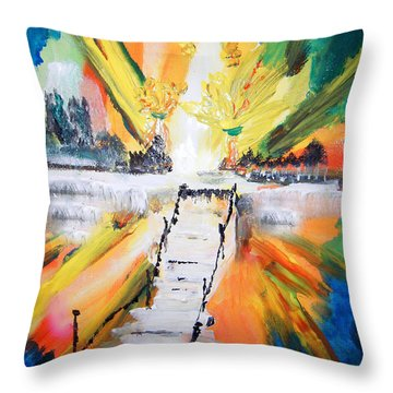 Healing Throw Pillow