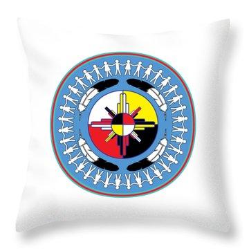 Healing For All Throw Pillow