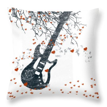 Healing  Hearts Throw Pillow
