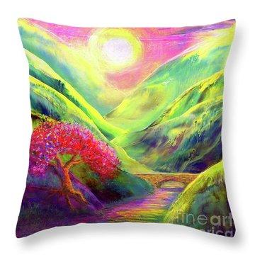 Healing Light Throw Pillow