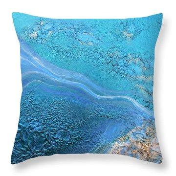 Healing Waters 1 Throw Pillow