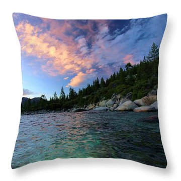 Healing Waters Throw Pillow