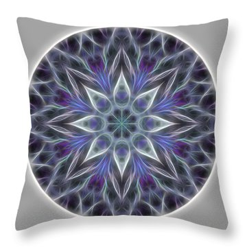 Health And Happiness Mandala Throw Pillow