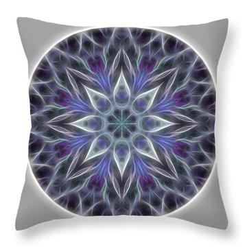 Health And Happiness Mandala Throw Pillow