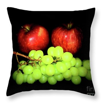 Healthy 1-8 Throw Pillow