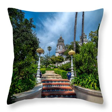 Hearst Castle I Throw Pillow