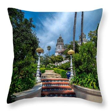 Hearst Castle I Throw Pillow