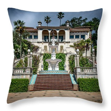 Hearst Castle II Throw Pillow