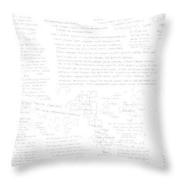 concept  Ai Throw Pillow