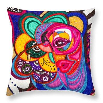 Heart Awakening - IIi Throw Pillow