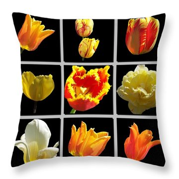 Heart Throw Pillow by David and Lynn Keller